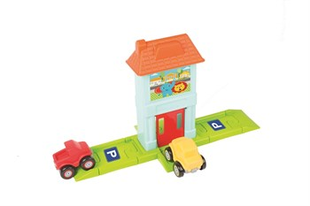 Fisher-Price Roadway Set With House & Gate