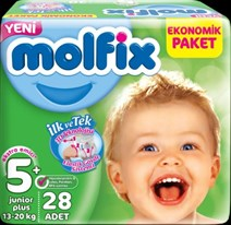Molfix 5+no junior plus 13-20 kg 28 adet